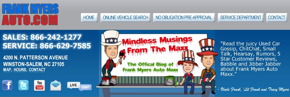 Frank Myers Automaxx Blog
