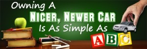 Frank Myers Auto has made used car buying easy as ABC