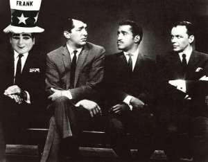 Uncle Frank Myers With Rat Pack in Winston Salem