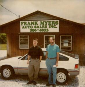 Frank Myers Auto History