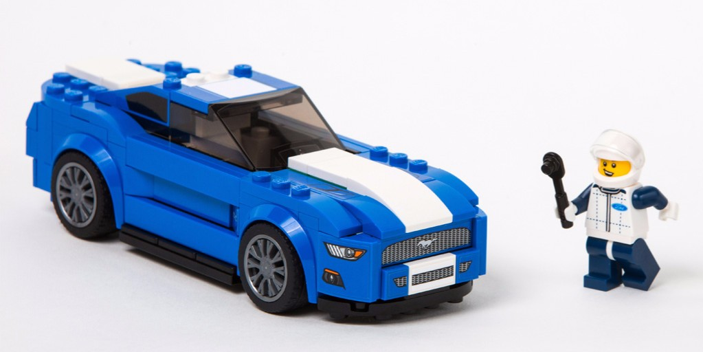 Ford Mustang LEGO kit