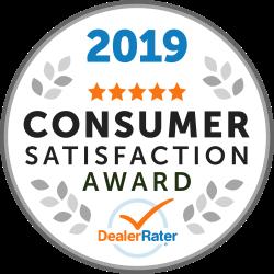 2019 Consumer Satisfaction Award Winner