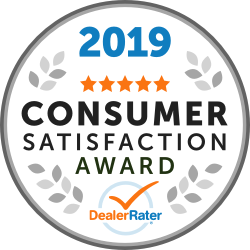 2019 Consumer Satisfaction Award Winner